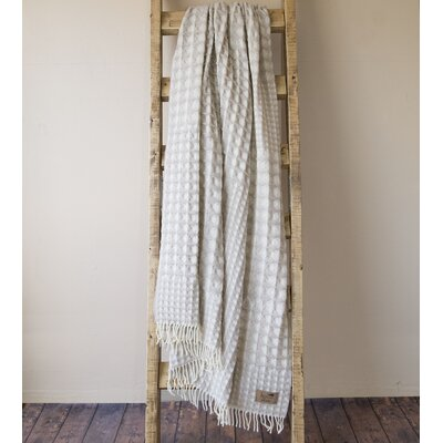 Waffle Weave Throw Color: Beige
