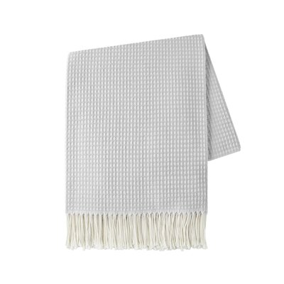 Marne Throw Color: Light Gray