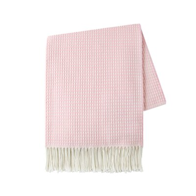 Marne Throw Color: Pink