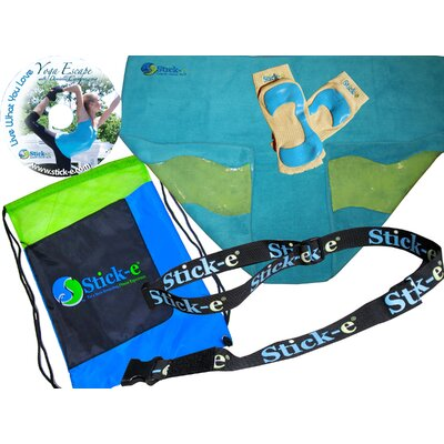 In store financing Yoga Anywhere Bundle Towel Color: B...