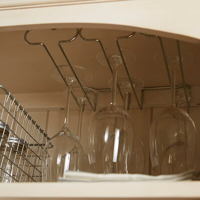 Triple Hanging Wine Glass Rack