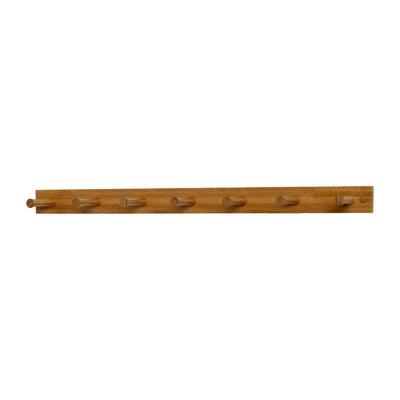 Spectrum Diversified 7 Peg Coat Rack - Finish: Bamboo