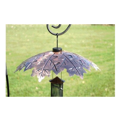 Weather Shield Copper Leaf Baffle In Brown image