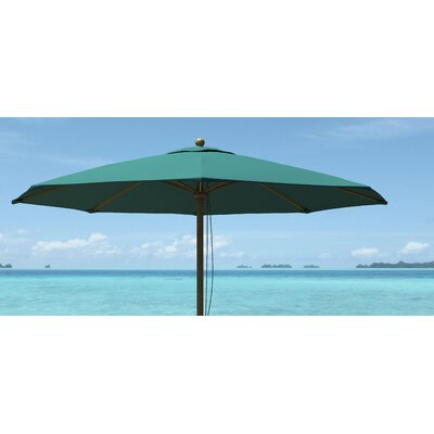 Image of .75' Market Umbrella Fabric: Hunter Green