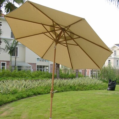 9 Market Umbrella Fabric: Natural