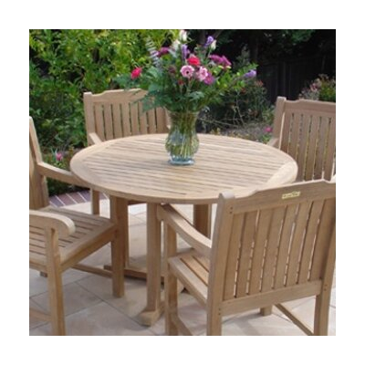Teakwood Cambridge Round Dining Table