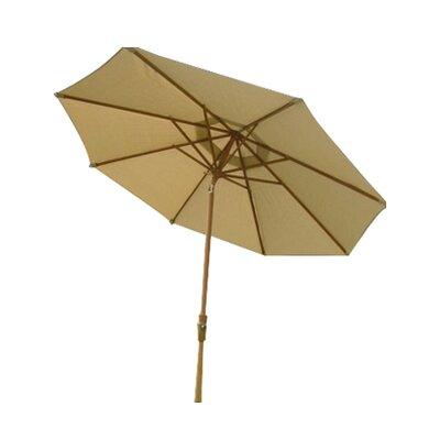 9' Market Umbrella Fabric: Natural MX7010NA