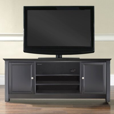 AroundSound TV Stand Finish: Black
