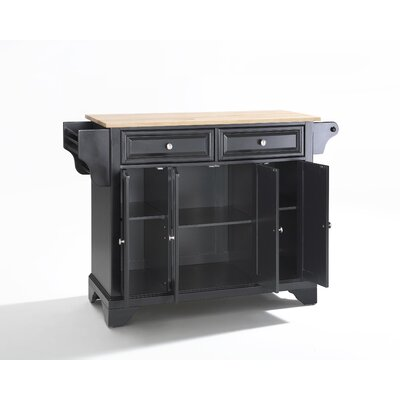 Credit for LaFayette Kitchen Island Base Finis...