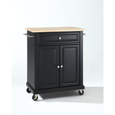 Rent to own Kitchen Cart Base Finish: Black...