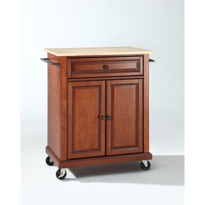 Rent Kitchen Cart Base Finish: Classic C...