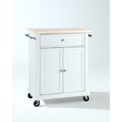 Bad credit financing Kitchen Cart Base Finish: White...