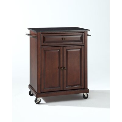 Bad credit financing Kitchen Cart with Granite Top Base ...