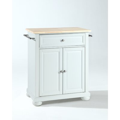 Crosley Alexandria Kitchen Island - Base Finish: White at Sears.com