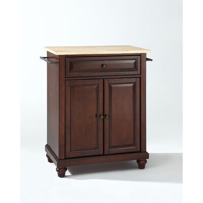 Crosley Cambridge Kitchen Island - Base Finish: Vintage Mahogany at Sears.com