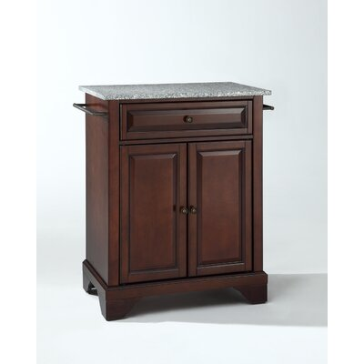 Crosley LaFayette Kitchen Island with Granite Top - Base Finish: Vintage Mahogany at Sears.com