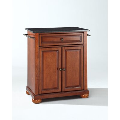 In store financing Alexandria Kitchen Island with Gran...