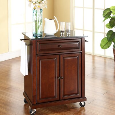 Crosley Kitchen Cart with Granite Top - Base Finish: Vintage Mahogany at Sears.com