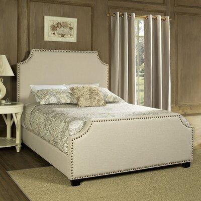 Bulpitt Platform Bed Size: King, Color: Cr�me