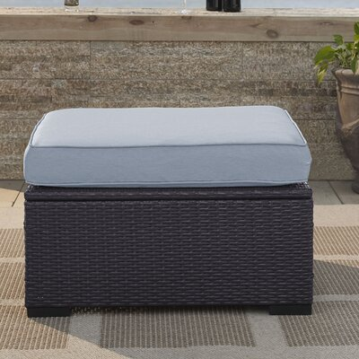 Dinah Ottoman with Cushion Fabric: Mist