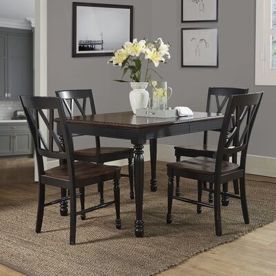 Kivalina Traditional 5 Piece Dining Set