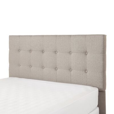 Sascha Upholstered Panel Headboard Size: Queen