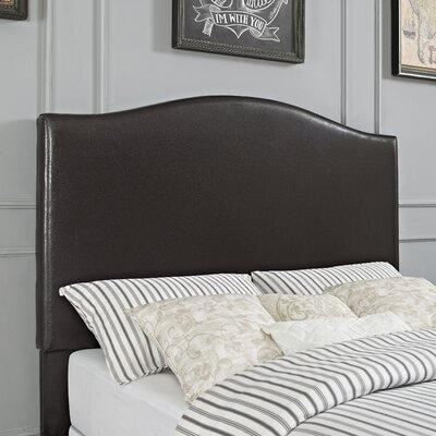 Sylwia Camelback Upholstered Panel Headboard Size: King/California King