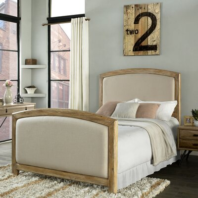 Loggins Upholstered Panel Bed Size: King