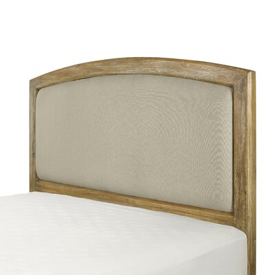 Loggins Upholstered Panel Headboard Size: King/California King