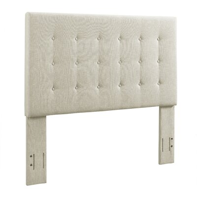 Burger Tufted Upholstered Wingback Headboard Size: Full/Queen