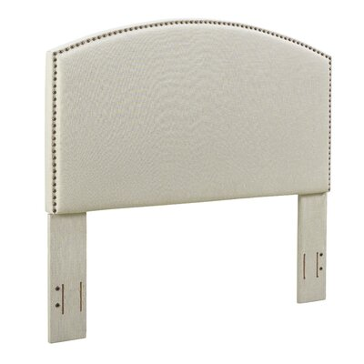 Beneduce Curved Upholstered Panel Headboard Size: Full/Queen