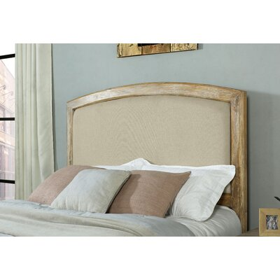 Loggins Upholstered Panel Headboard Size: Full/Queen