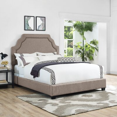 Stearns Upholstered Panel Bed Size: Queen