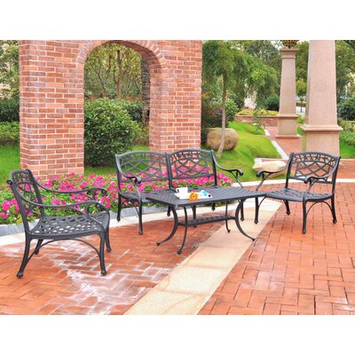 Lomax 4 Piece Lounge Seating Group