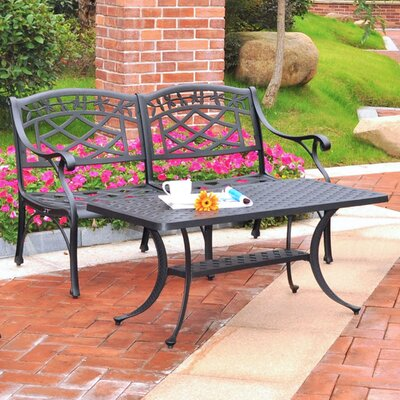 Lomax 2 Piece Cast Lounge Seating Group
