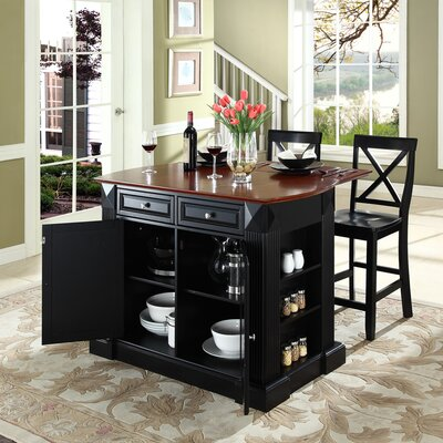 Crosley Kitchen Island Set - Base Finish: Black at Sears.com
