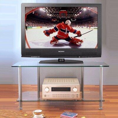 Cheap VTI AGR Series 2-Shelf Plasma/LCD 44″ TV Stand Pole Color: Black (VI1073_1201713)