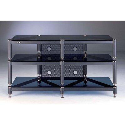 Cheap VTI 3-Shelf  Audio/Video Rack in Black (VI1093)