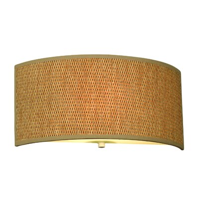 Cassandra Wall Sconce in Natural Grasscloth