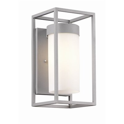 Philip Lighting on Philips Forecast Lighting Cube Outdoor Wall Lantern In Graphite