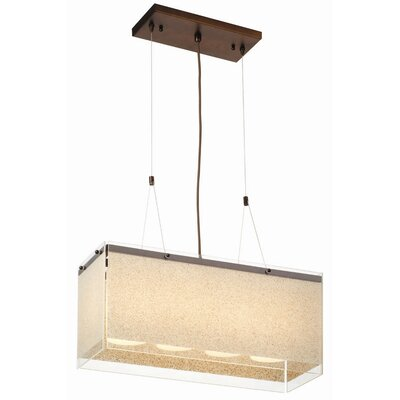 Pacifica 4 Light Kitchen Island Pendant