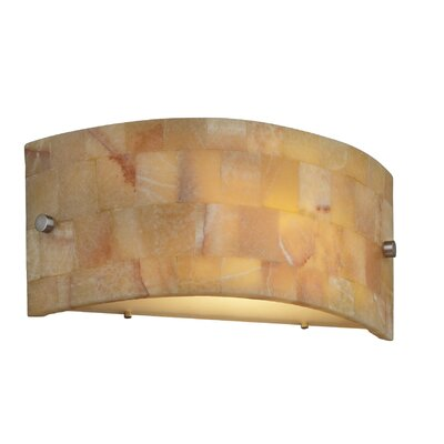 Hudson One Light Wall Sconce in Satin Nickel