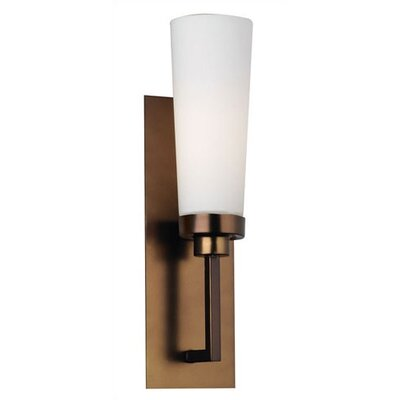 Nicole Wall Sconce in Etched White Opal Glass