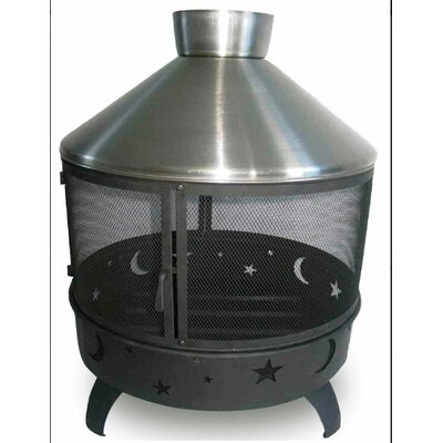 Lease to own Celestial Steel Pagoda Fireplace...