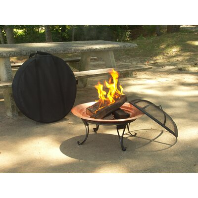 Bad credit financing Copper Folding Fire Pit...