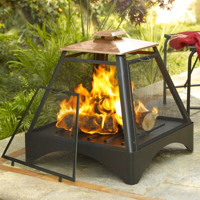 Lease to own Copper Pagoda Fireplace...