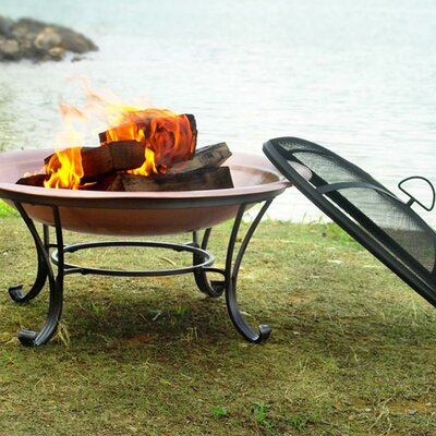 Corral Steel Wood Burning Fire Pit