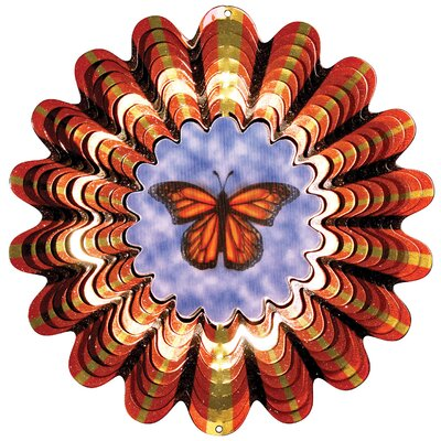 Butterfly Animated Wind Spinner