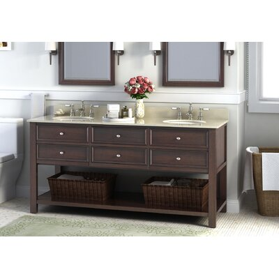 Camber 72 Double Bathroom Vanity Set
