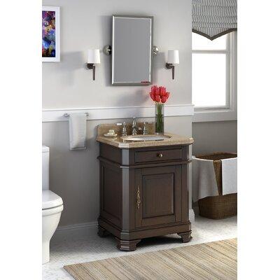 Perkin 28 Single Bathroom Vanity Set with Mirror